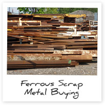 Ferrous Scrap Metal Buying & Recycling