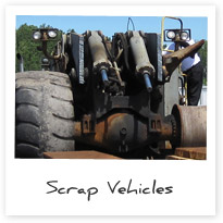 Ferrous Scrap Vehicles