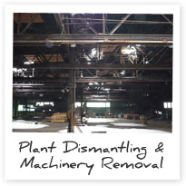 Industrial Machinery Recycling | Plant Dismantling