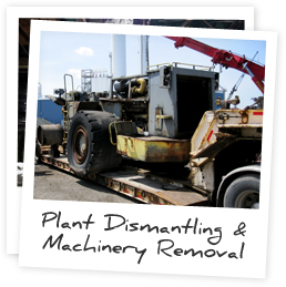 Plant Dismantling & Machinery Removal